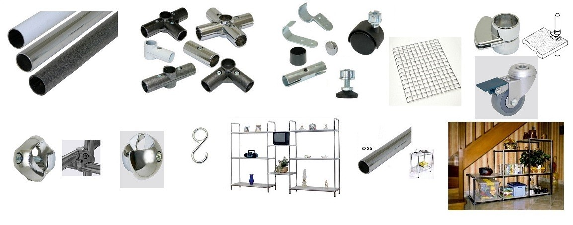 shelving components